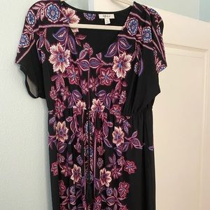 Style & Co Maxi Dress M. Condition